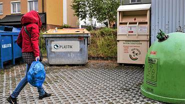 Segregacja śmieci, kontenery w Rzeszowie