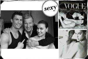 """To ich pierwsza wsp�lna ok�adka! Irina Shayk i Cristiano Ronaldo zadaj� szyku na �amach """"Vogue Espana""""! Jak wypadli? [AKTUALIZACJA -WSZYSTKIE ZDJ�CIA!]"""