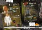 """Lalki przedstawiaj�ce bohaterów """"Breaking Bad"""" w sklepie z zabawkami. Metamfetamina w komplecie"""