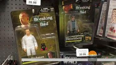"""Czy sklep z zabawkami to odpowiednie miejsce dla figurek bohaterów serialu """"Breaking Bad""""?"""