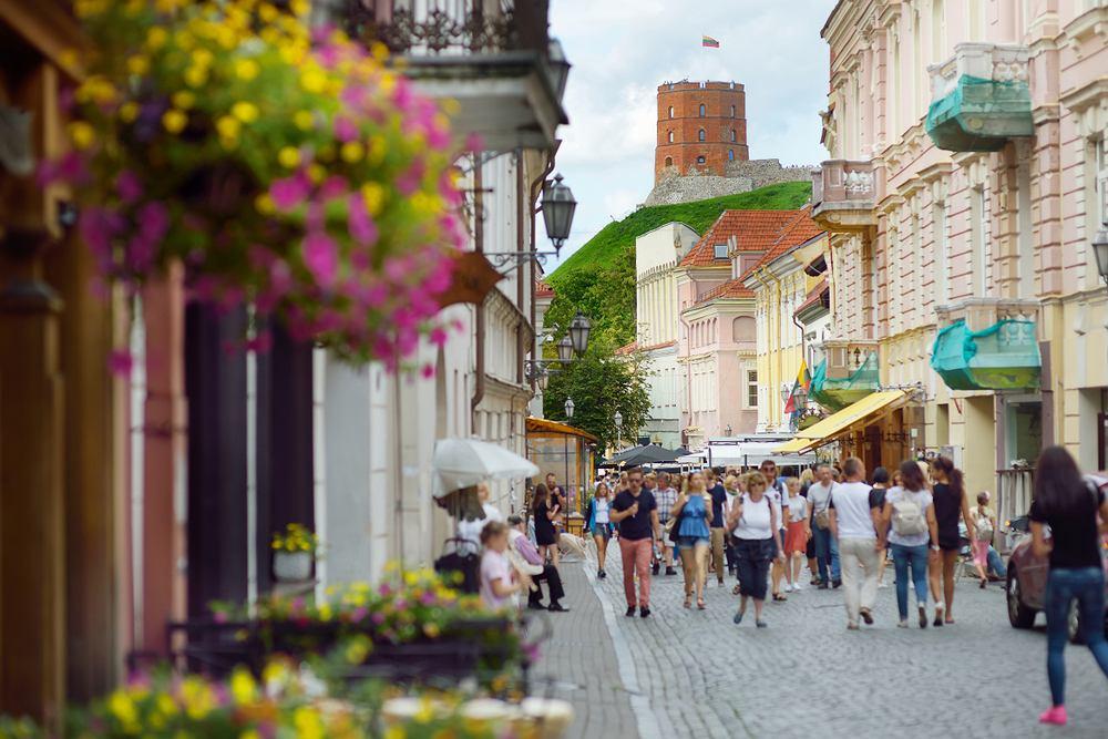 2. Wilno (Litwa) 165,53 funtów (około 800,60 zł) za weekend