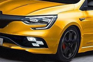 Wyciekły zdjęcia patentowe Renault Megane R.S.