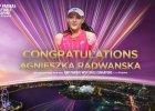 WTA Finals. Kobiecy tenis jak kopalnia z�ota