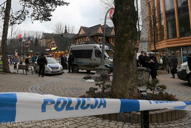 Miejsce wypadku na Krup�wkach