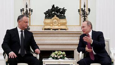 Kolejny kraj wraca w orbitę Kremla: nowy prezydent Mołdawii Igor Dodon z wizytą u Putina