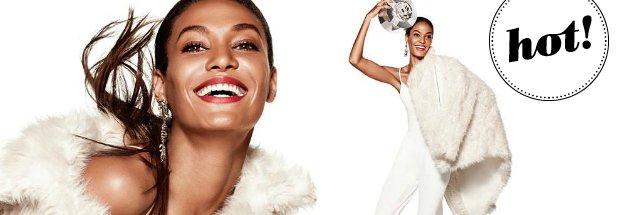 Kolekcja �wi�teczno-karnawa�owa H&M - zobacz lookbook z Joan Smalls