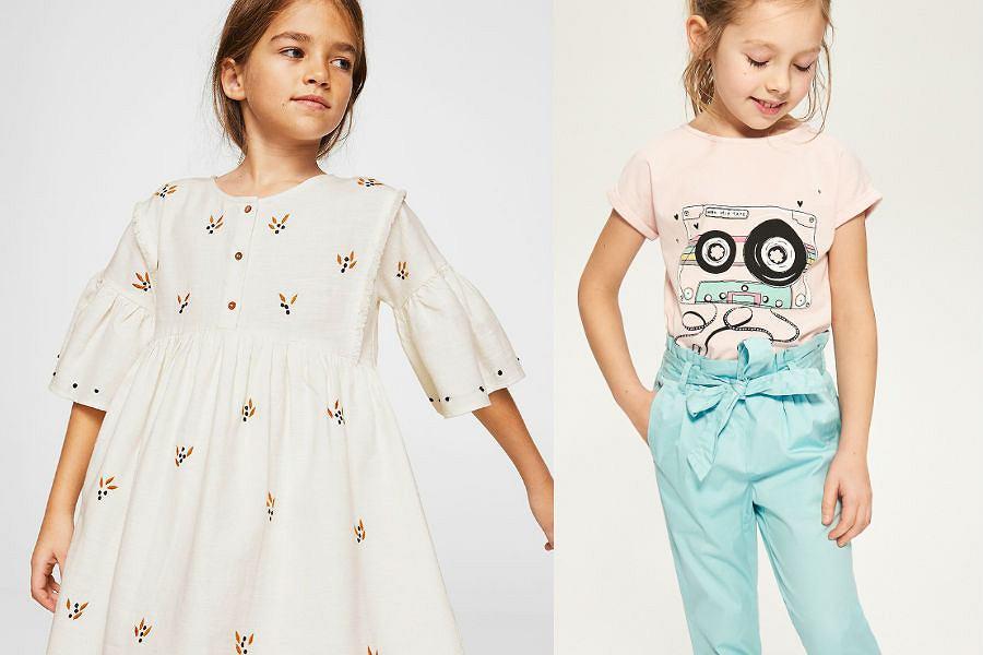 Eleganckie ubrania dla dziewczynek