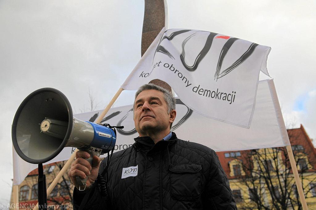 Władysław Frasyniuk (fot. Mieczysław Michalak/AG)