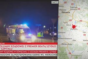 Wypadek premier Szydło. Błaszczak zwołuje pilną naradę BOR
