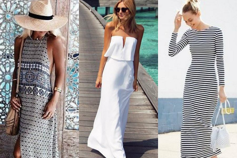 d0728b5b7b Z czym nosić długie sukienki  Porady i propozycje stylizacji