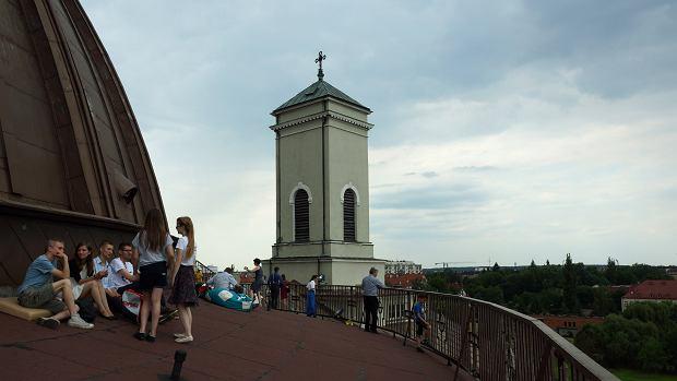 Zdjęcie numer 0 w galerii - Najnowsze widoki z kopuły bydgoskiej Bazyliki. Byliście tam?