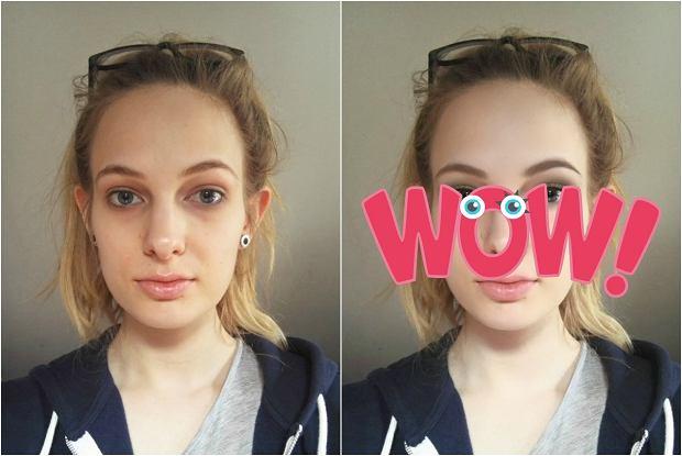 Ta aplikacja w mgnieniu zrobi ci makijaż, który wygląda dobrze i... bardzo realistycznie [ZDJĘCIA PRZED I PO]