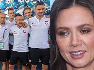 Kinga Rusin vs polscy piłkarze