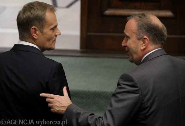 Tusk i Grzegorz Schetyna