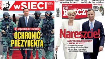 W tygodnikach o inauguracji Andrzeja Dudy. Prawica przebiera nogami i ju� tworzy atmosfer� spisku