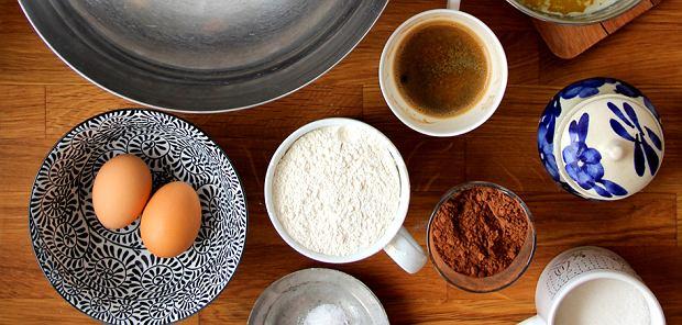 Brownie z espresso
