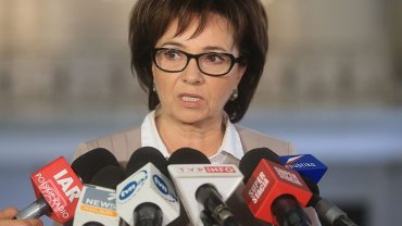 Elżbieta Witek w Sejmie