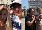 Roksana Gąska i Jacek Rozenek na wakacjach we Włoszech