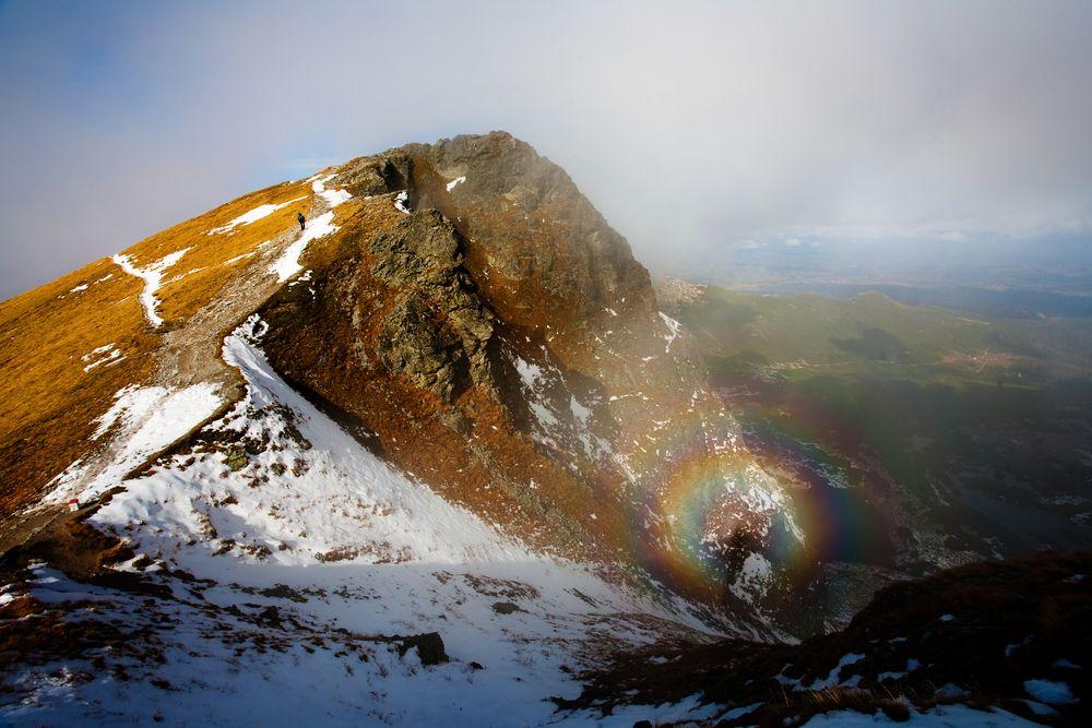 Widmo Brockenu widziane w Tatrach / fot. Shutterstock