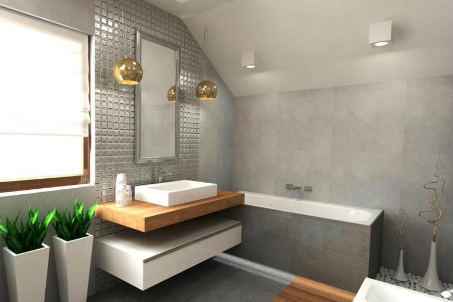 Łazienka w stylu nowoczesnym