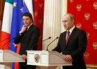 Putin liczy na Włochy, ale może się gorzko rozczarować