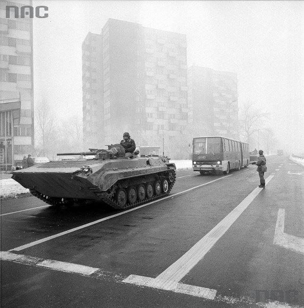 Wprowadzenie stanu wojennego, 13 grudnia 1981 r.