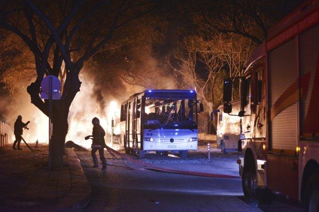 Celem zamachowc�w by�y autobusy przewo��ce wojskowych