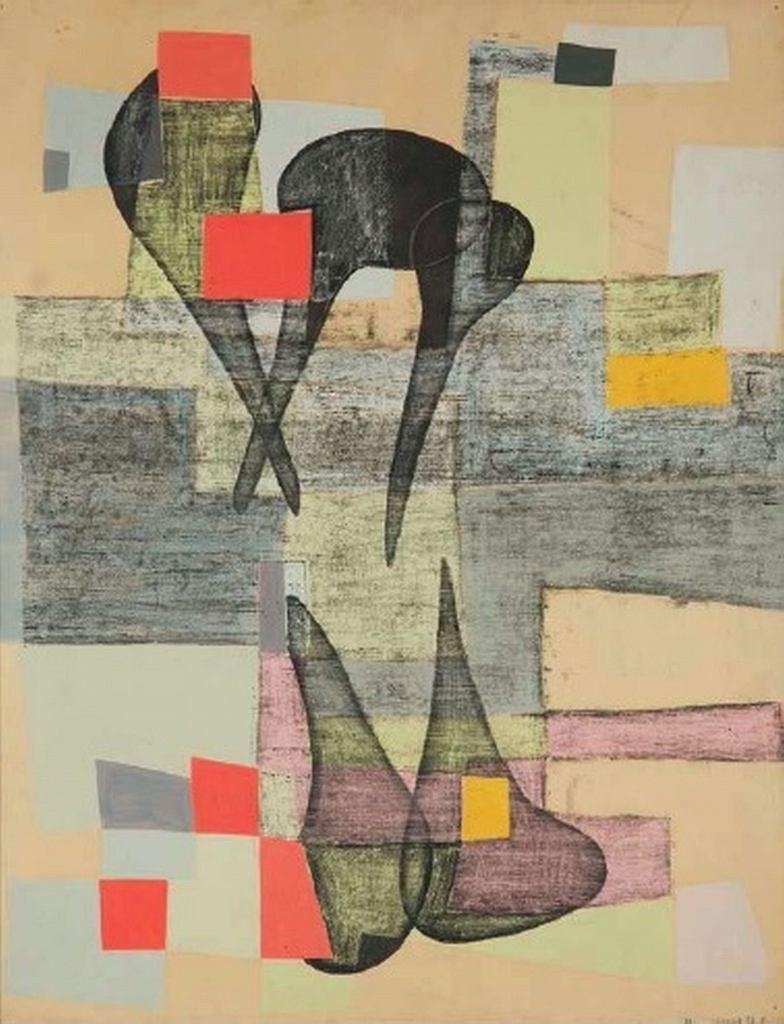 Maria Jarema, Formy, 1957 / materiały prasowe