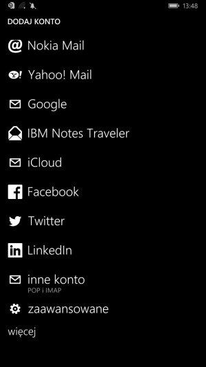 Dodawanie konta poczty Gazeta.pl na Windows Phone