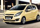 CHEVROLET Spark 12-, rok produkcji 2013, coupe, widok przedni lewy, samoch�d 5-drzwiowy, kolor ��ty