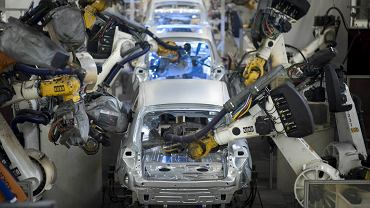 Wolfsburg, fabryka Volkswagena.