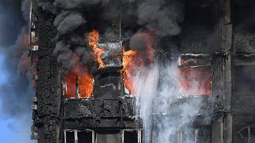 Pożar wieżowca w Londynie