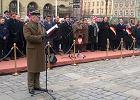 Dutkiewicz podczas uroczystości na Rynku krytykuje apel smoleński