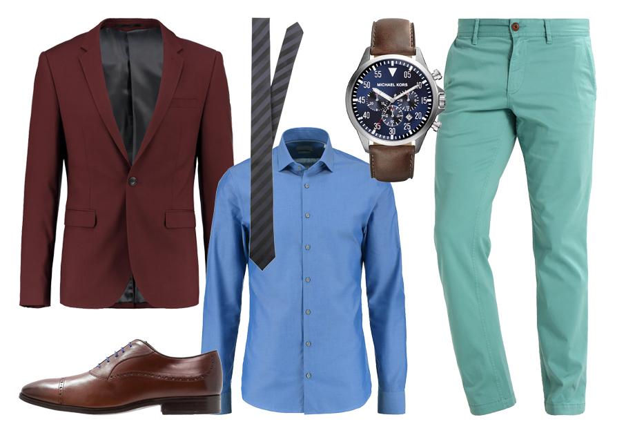 12cf27f9dd5b4 Kolorowe spodnie i koszule - jak je łączyć?