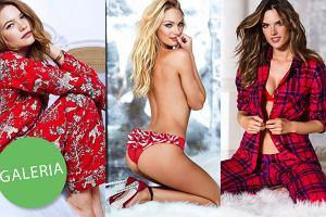 Look marki: Victoria's Secret w �wi�tecznej czerwieni