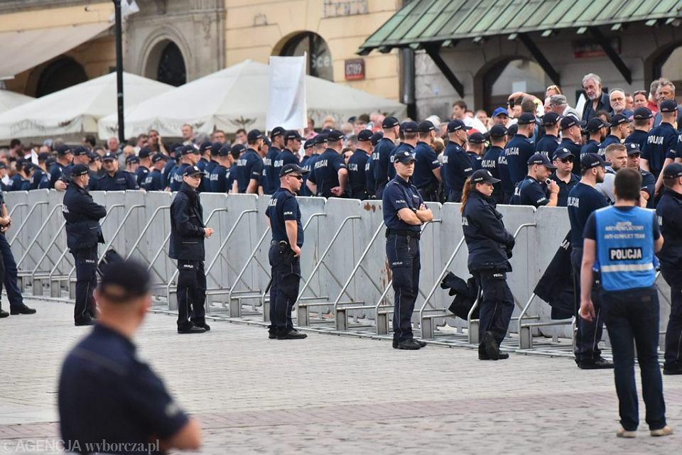 87. miesiecznica smolenska w Warszawie