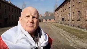 Piotr Rybak w Oświęcimiu