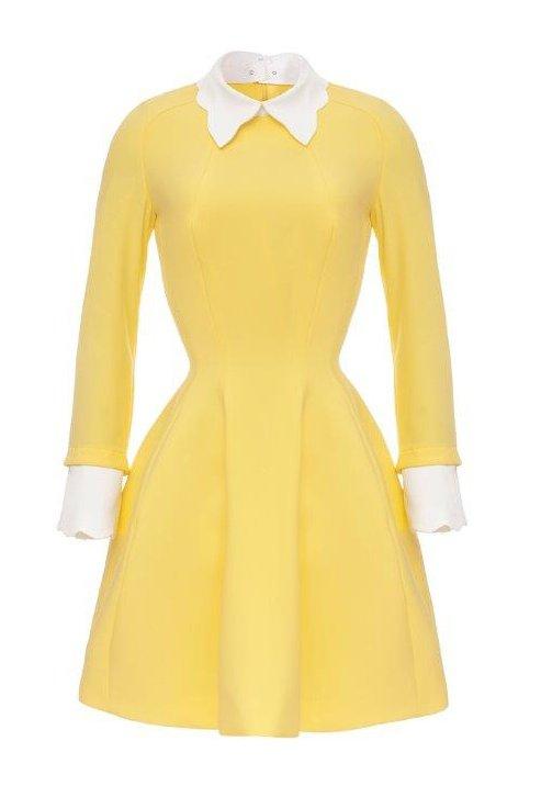 2fede40919a3c W pełnym słońcu czyli ubrania i dodatki w kolorze żółtym - zdjęcie nr 27