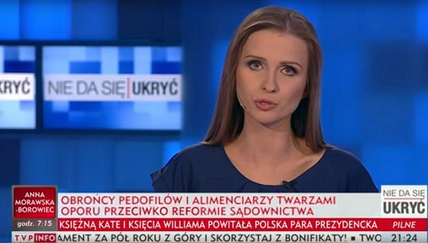 TVP Info przekroczyło granice ohydnej propagandy. Tak, oni naprawdę wypuścili taki pasek