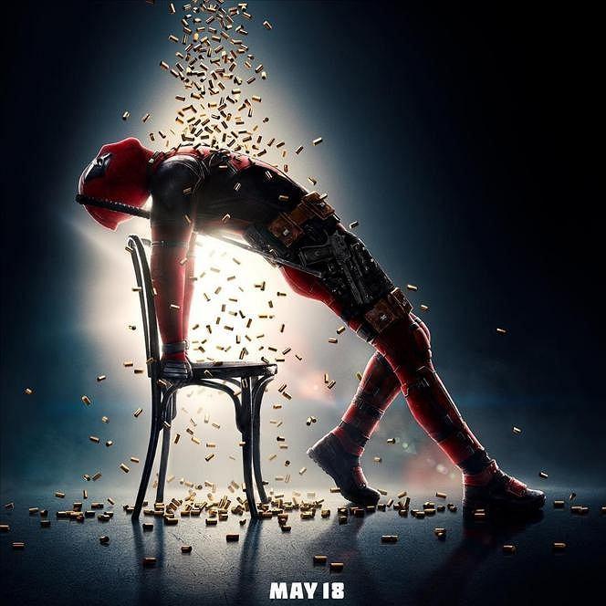 Plakat filmu 'Deadpool 2'