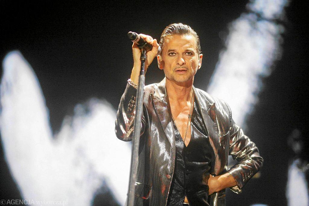 David Gahan podczas koncertu zespołu Depeche Mode w hali widowiskowej Atlas Arena / TOMASZ STAŃCZAK