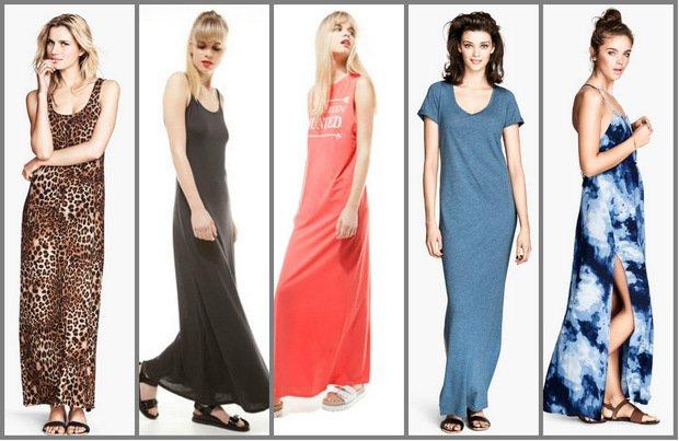 D�ugie sukienki na lato 2014 - 100% komfortu
