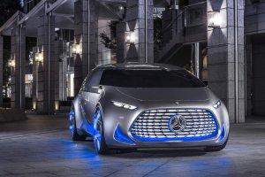 Salon Tokio 2015 | Mercedes Vision Tokio | Generacja Z