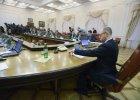 Rz�du Ukrainy: na pierwszym planie  Arsenij Jaceniuk