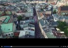 Sfilmowali z drona sobotni Marsz Wolności w Krakowie [WIDEO]