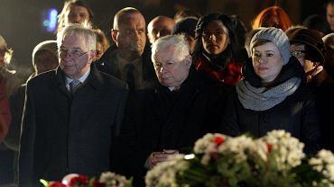 Krzysztof Lipiec, Jarosław Kaczyński i Anna Krupka