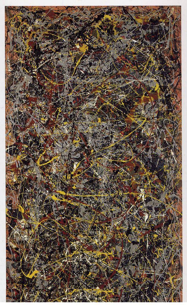 163,8 mln dol.: Jackson Pollock (1912-1956) -