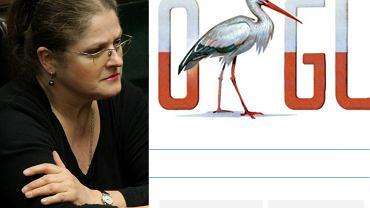 Pawłowicz oburzona na Google'a za polskiego bociana