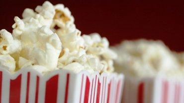 popcorn, kino