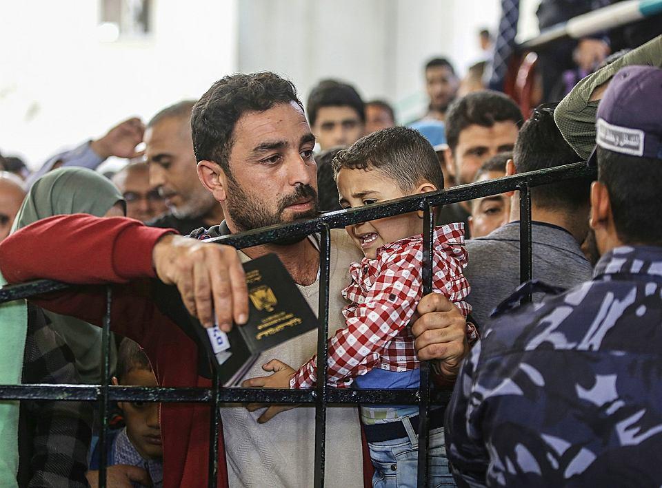 Strefa Gazy Picture: Wielka Ucieczka Ze Strefy Gazy